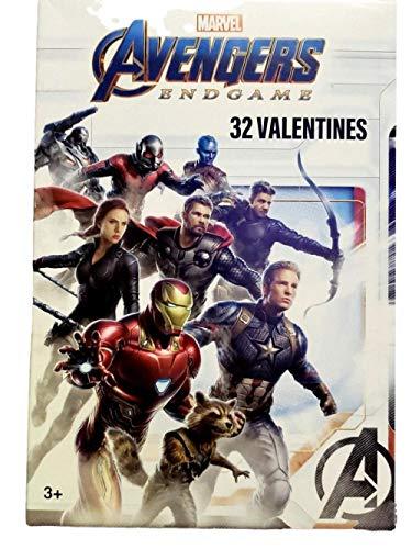 Marvel Avenger Endgame Valentines Classroom Exchange Cards 32