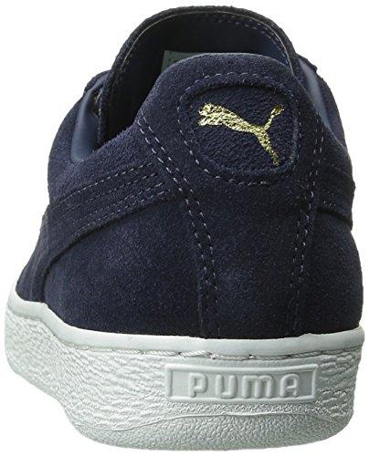 PUMA Adult Wildleder Klassischer Schuh Peacoat / Peacoat / Weiß