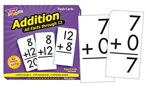 Flash Cards All Facts 169/Box 0-12 Addition -- Case of 3