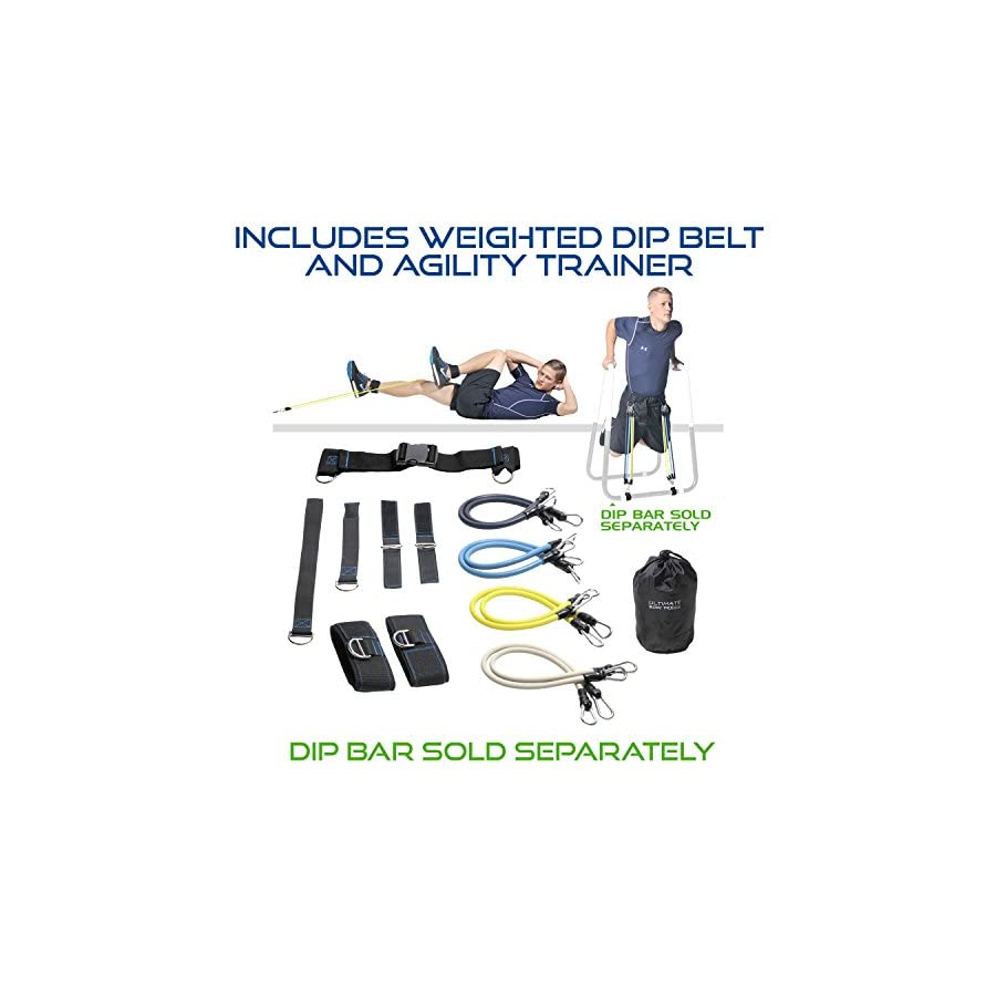Dip Bar Accessories and Product Bundles by Ultimate Body Press