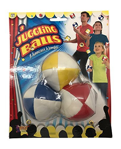 Juggling Set For Beginners-Includes Juggling Balls and Juggling Rings by Juggle Mania