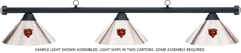 NFL NFL B01HQR8B96 Chicago Chicago Bearsクロムシェード&ブラックバービリヤードプールテーブルライト B01HQR8B96, Private Grace:0dfdae82 --- gamenavi.club