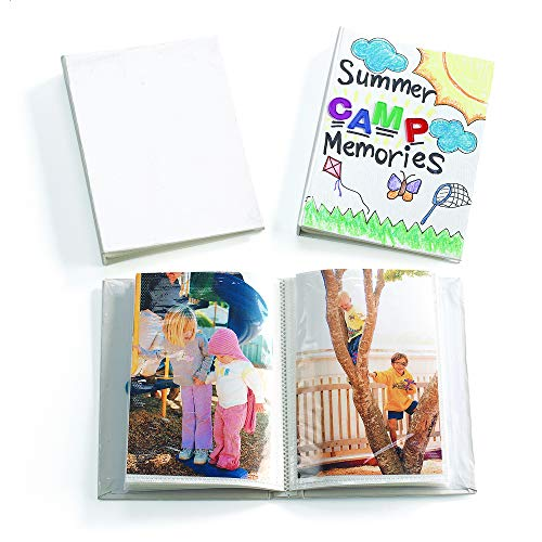 Colorations Album Decorate Your Own Photo Albums for Young Learners (Pack of 12 Albums)