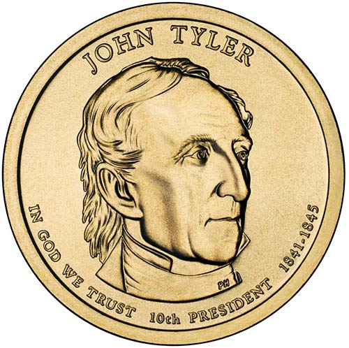 2009 S Proof John Tyler Presidential Dollar Choice Uncirculated US Mint ()