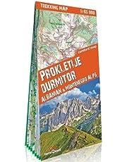terraQuest Trekking Map Prokletije & Durmitor