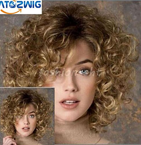 ATOZWIG Fashion Blonde Short Resistant