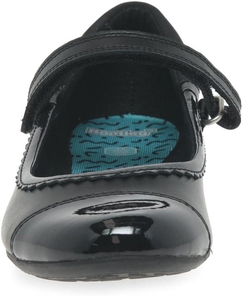 Clarks Tizz Ace Bootleg Girls School Shoes 7.5 G UK Black