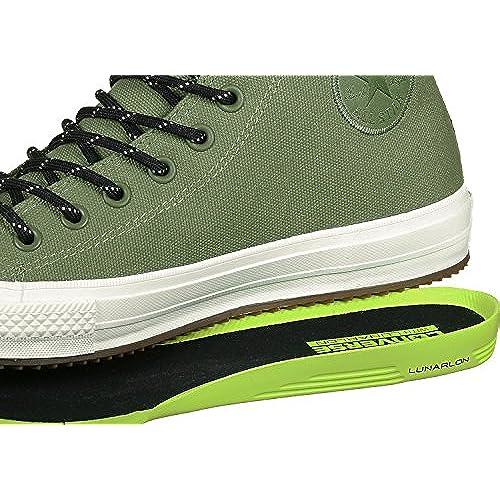 27e6db761b8d Converse Chuck Taylor All Star II Shield Canvas Sneaker Boot Hi Fatigue  Green Green Onyx