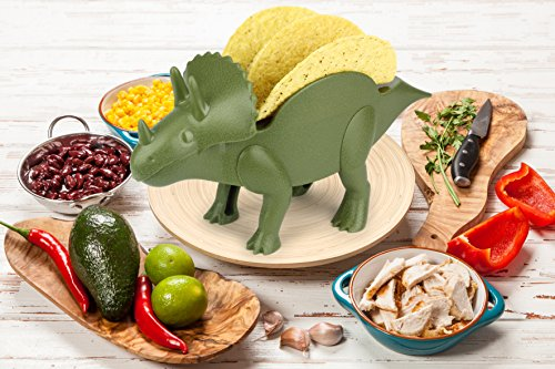 KidsFunwares TriceraTACO Taco Holder - The Ultimate Prehistoric Taco Stand for Jurassic Taco Tuesdays and Dinosaur Parties - Holds 2 Tacos - The Perfect Gift for Kids and Kidults that Love Dinosaurs by KidsFunwares (Image #12)