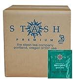 Stash Tea Merrymint Organic Green Tea Bags, 100-Count Box