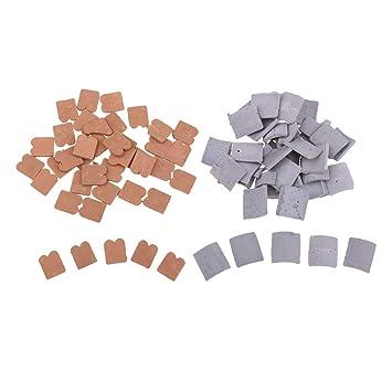 Homyl 85 Piezas Mini Ladrillo Modelos de Escala Construcción Arquitectónica: Amazon.es: Juguetes y juegos