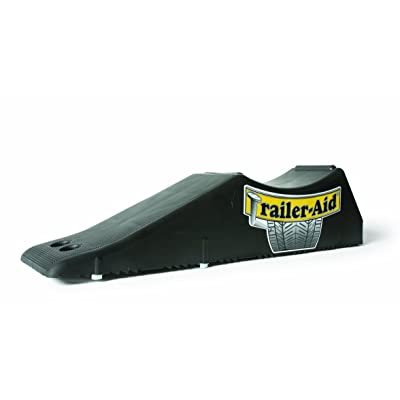 Trailer-Aid Tandem Tire Changing Ramp, The Fast and Easy Way To Change A Trailer's Flat Tire, Holds up to 15,000 Pounds, 4.5 Inch Lift (Black): Automotive