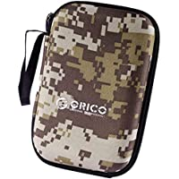 Capa Case Protetora Hd Externo 2.5 Camuflada Cinza Orico PH-HD1-GY-BP