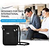 KEAFOLS Travel Pouch Neck Wallet Family Passport