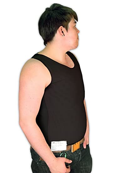 3ba7ce71ed Tranz  Forms Bind-Rite PowerNet Sleeveless FTM Chest Binder with Double  Panel Front