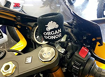 Amazon.com: Brake Fluid Reservoir Cover Sock For Motorcycles ...