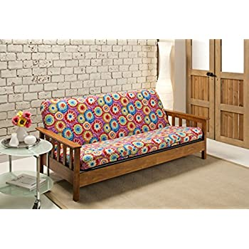 Amazon Com Madison Stretch Jersey Futon Slipcover Tie Dye