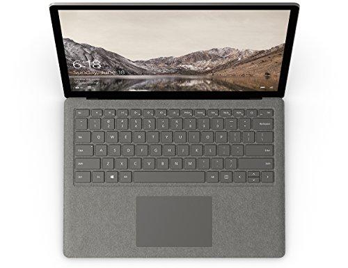 "Microsoft Surface Laptop DAJ-00021 Laptop (Windows 10 S, Intel Core i7, 13.5"" LCD Screen, Storage: 256 GB, RAM: 8 GB) Graphite Gold"
