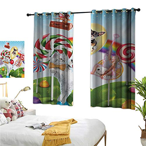 Superlucky Decor Curtains by,Kids,55