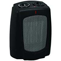 Duraflame DFH-DH-14-T Portable Electric Ceramic Desktop Heater, Black