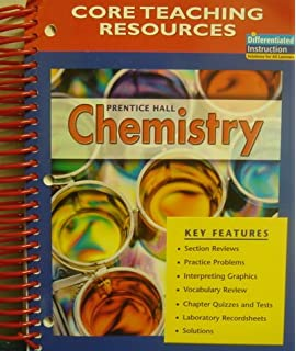 Amazon prentice hall chemistry guided reading and study core teaching resources prentice hall chemistry fandeluxe Images