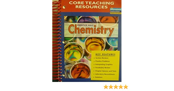 CORE Teaching Resources Prentice Hall Chemistry: Antony C ...