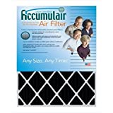 Accumulair FO23.5X23.5X1N Carbon Odor Block 1 In. Filter#44; Pack Of 4