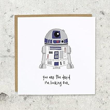Es el droide Busco Tarjeta de felicitación, cumpleaños ...