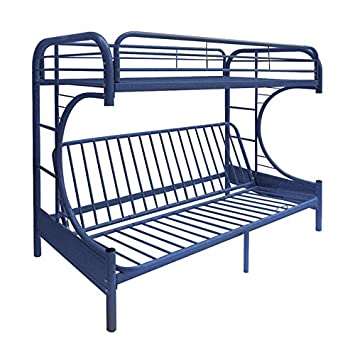 release date: 023b8 abf49 ACME Furniture 02091W-NV Eclipse Futon Bunk Bed, Twin/Full, Navy