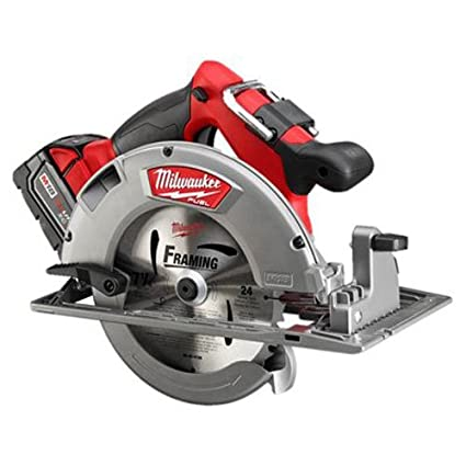 Milwaukee 2731 21 m18 fuel 7 14 circular saw 1 bat kit amazon milwaukee 2731 21 m18 fuel 7 14quot circular saw greentooth Image collections