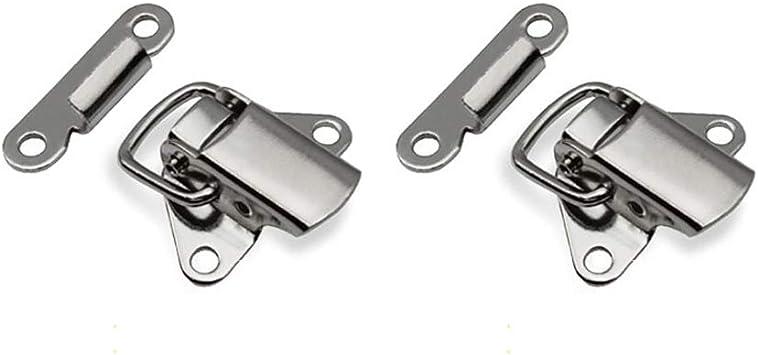 HomDSim - Caja de metal con cierre de broche para cajas de madera ...