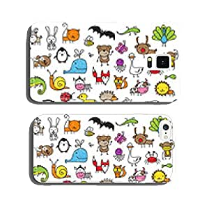 Kid's drawings of animals cell phone cover case iPhone6