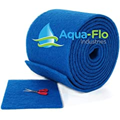 Aqua-Flo's premiere air filteration pads can be cut with quality shears or a utility knife to create almost any size one- inch air filter for furnace and central air conditioning units. The product is semi-rigid and needs no frame for support...