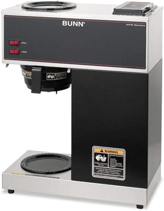 Bunn VPR Coffee Brewer - Cafetera (Cafetera de filtro, 14,4 L ...