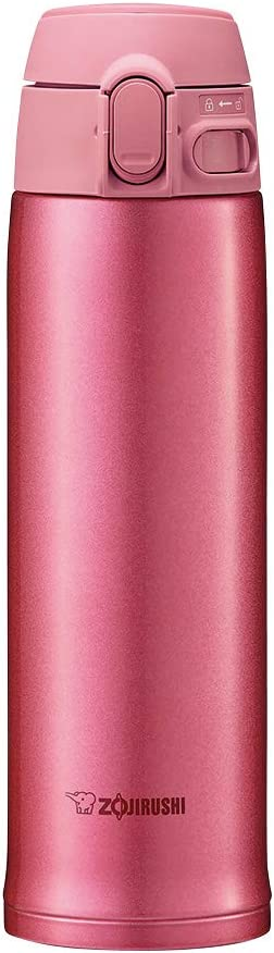 Zojirushi Stainless Steel Vacuum Insulated Mug, 16-Ounce, Pink