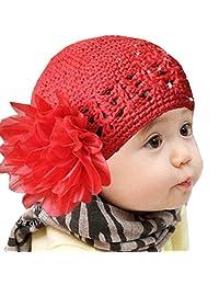 Tenworld Toddlers Infant Baby Girl Flower Crochet Lace HairBand Headwear Hat