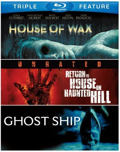 House of Wax (2005) / Return to House on Haunted Hill / Ghost Ship (BD) (3FE) [Blu-ray] by Warner Home Video