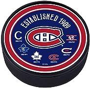 Montreal Canadiens Heritage Textured Puck