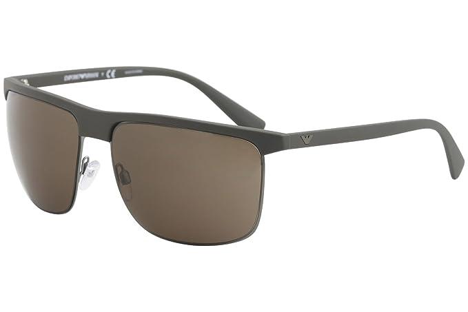 Emporio Armani 0EA4108, Gafas de sol para Hombre, Matte Mud ...