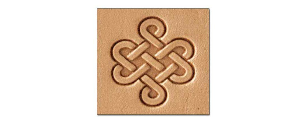 Tandy Leather Craftool 3-D Stamp Celtic Knot 8589-00