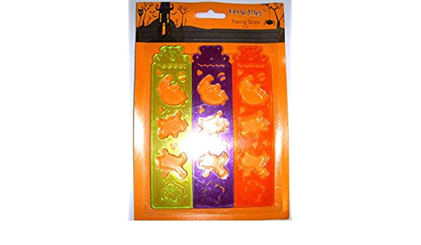 Halloween Party Favors Tracing Strips Lot 36 NIP