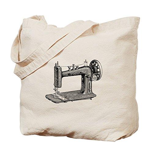 CafePress diseño de máquina de coser–Gamuza de bolsa de lona bolsa, bolsa de la compra