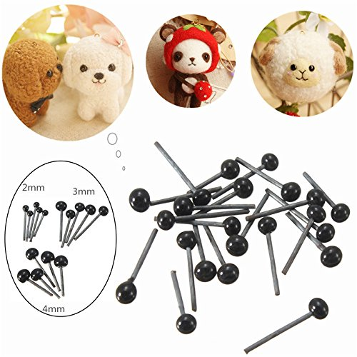 Kids Diy Handicraft Art - 150pairs 2 3 4mm Children Kids Diy Glass Eyes Needle Felting Bear Teddy Dolls Puppet Animals Handcrafts Toys - 1PCs