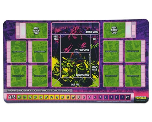 (Teenage Mutant Ninja Turtles Dice Masters: Playmat Wizkids WZK 72293)