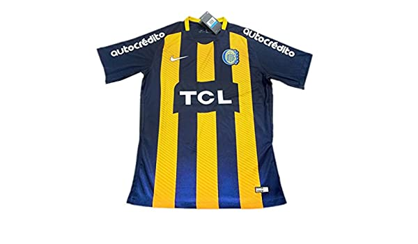 Camiseta de Fútbol TI Antonio Rosario Central para el hogar 18-19: Amazon.es: Deportes y aire libre