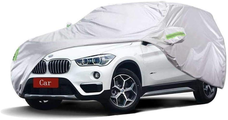 Cubierta del coche compatible con BMW X1 SUV coche cubierta gruesa tela Oxford Protecci/ón Solar cubierta del coche a prueba de lluvia caliente Cubierta