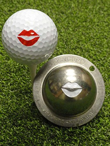 Tin Cup Lipped Out Lips Golf Ball Custom Marker Alignment Tool