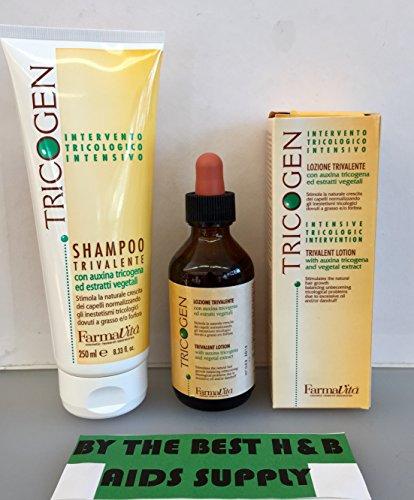 Farmavita Tricogen Kit (Shampoo 250ml Plus Lotion 100ml) by Farmavita