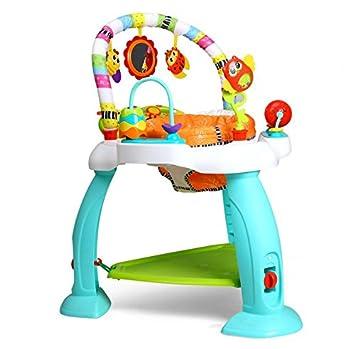 f301c8fa3281 EastSun Baby Rainforest Learn Jumperoo Activity Jumper  Amazon.co.uk ...