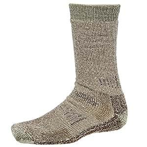 Smartwool Men's Hunt Heavy Crew Socks, Brown, Small